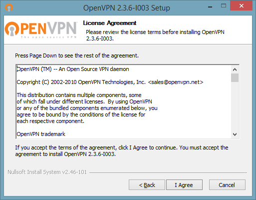 2 of 7 screenshot showing how to connect to OpenVPN on Windows 10