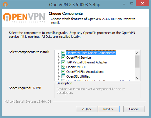 3 of 7 screenshot showing how to connect to OpenVPN on Windows 10