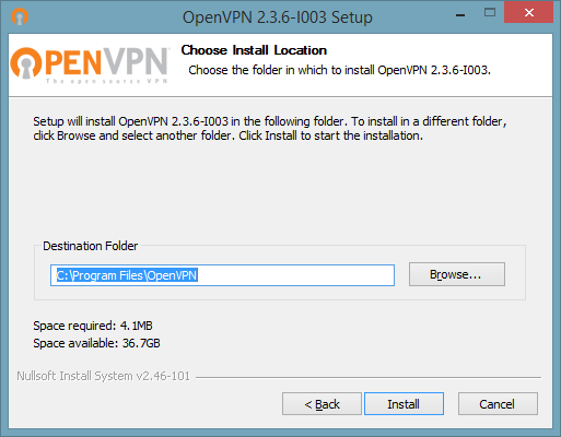 4 of 7 screenshot showing how to connect to OpenVPN on Windows 10
